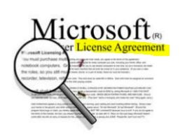 Microsoft Licences Agreement